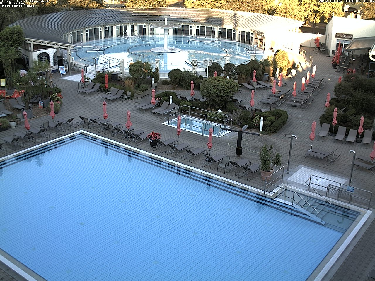 Webcam 1 – Therme 1 mit Saunahof
